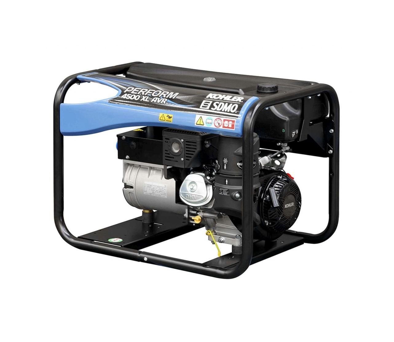 Бензиновый генератор (Бензогенератор) SDMO PERFORM 4500 XL AVR